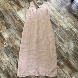 Johnny Was Collection | Linen Maxi Dress Medium